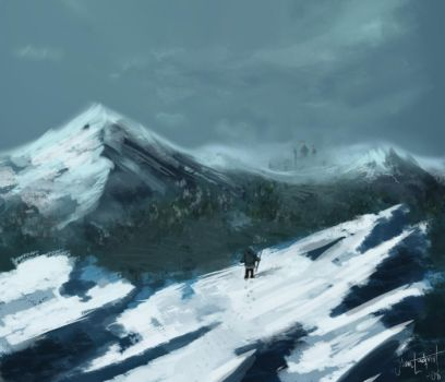 mountains by Lundqvist1