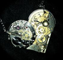 Small Steampunk Heart by Lucky978