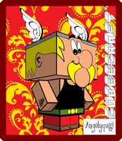 Asterix Cubeecraft by angelyques