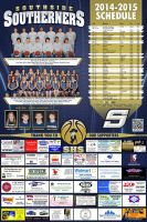 2014-2015 Southerner Basketball Schedule by tbtyler