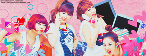 2NE1 Header... by Ryeong407