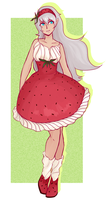 LU: strawberry by lady-largo
