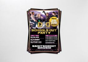 Schools out Plakat by homeaffairs