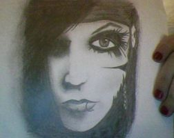 andy sixx drawing by hotarumoran
