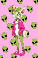 extraterrestrial kitten by ribless