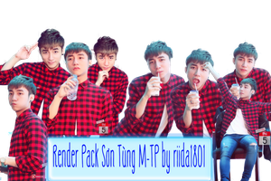 Render Pack Son Tung M-TP by RiiDA1801