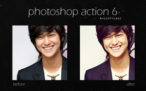 Photoshop Action 6 by MyCuppyCake