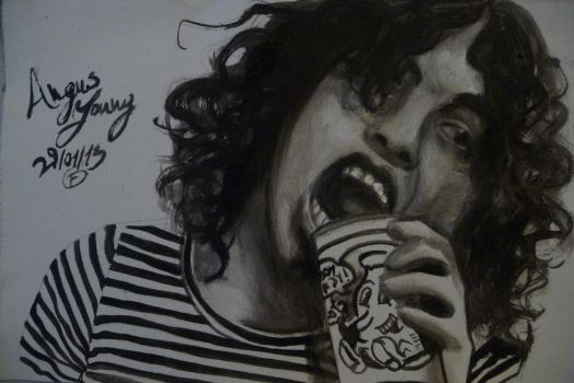 Angus Young by FunnySanguevivo