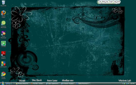 Desktop-teal by Camerz