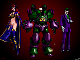 DCUO : the bad mentors by RazKurdt