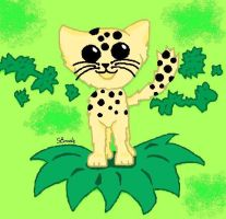 Leopardkit by Leopardflower