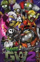 Plants vs Zombies Garden Warfare 2: (Zombies Team) by Fouad-z