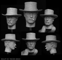Clint Eastwood-Man With No Name by TrevorGrove