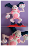 Mr Mime Plush by FollyLolly