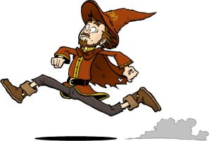 Run Rincewind, Run by bele