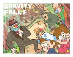 Welcome to Gravity Falls by yoko15bloo