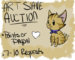 Art Slave auction Closed by Dream15