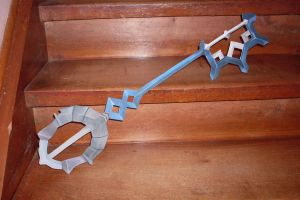 Aqua Keyblade by AZBY