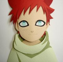 Gaara by paperfetish
