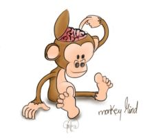 Monkey Mind Project Cartoon by imaGeac