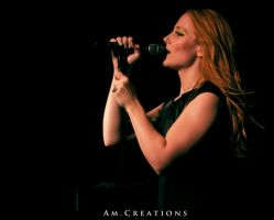 Simone Simons. Live Norway 19 by AmCreationss