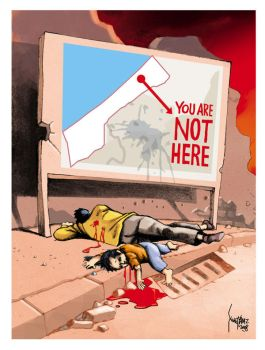 You are not here - Gaza by ademmm