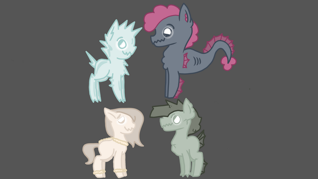 Extremo Basic Designs! by SketchThePony13