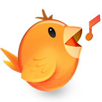 Songbird dock icon by BruceMark