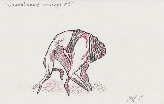 Woundhound Concept Sketch by SeventhStation