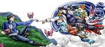 Creation of new generations - Pokemon X / Y - by Fucal