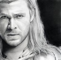 Thor (Chris Hemsworth) by MLS-art
