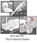 Don't Duel Cars by Deems