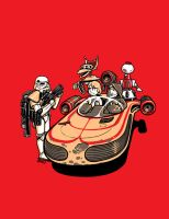 These Aren't The Droids you're Looking For by Kaigetsudo