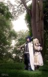 Chrom and Lissa Cosplay by LittleLaki