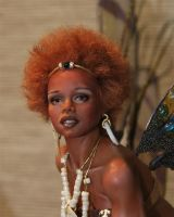 OOAK African Fairy Kiara by fairiesndreams