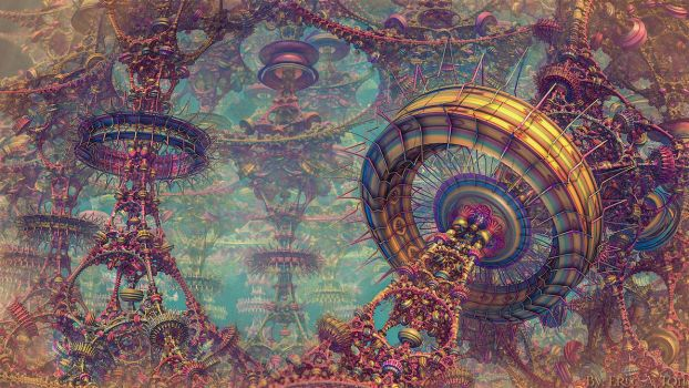 The Great Carnival II by EricTonArts