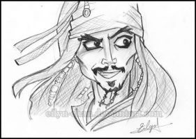 He's the Pirate by Eilyn-Chan