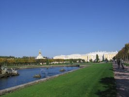 Peterhof sight by RitaFromRussia