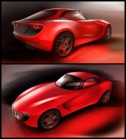 Alfa Giulia - Views by Vincent-Montreuil