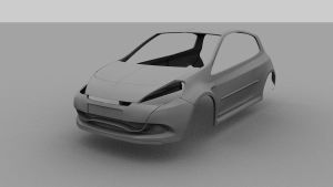 Renault Clio Sport 2010 w.i.p by Tom-3D
