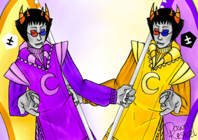 Fancy Dreamer Sollux by DawnKestrel