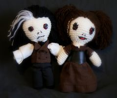 The Spare Sweeney Todd Pair by weblore