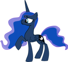 Luna Vector by demonraptorwulf