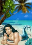 The Merman by Dendrilite
