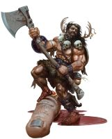 Barbarian by JoeSlucher