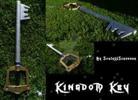 Kingdom Key V3 by SoulessStranger