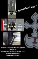 Superior Lust-Xemnas keyblade by VenturertheHybrid