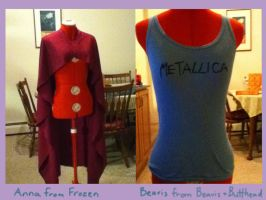WIPs by HayleyCosplay