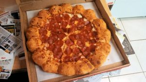 Pizza Hut's 3 Cheese Stuff Crust Pizza by BigMac1212