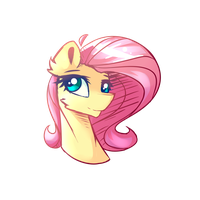 [DTA] Flutters Bust by PonyBytes